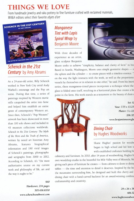 Western A and A THINGS WE LOVE mag story